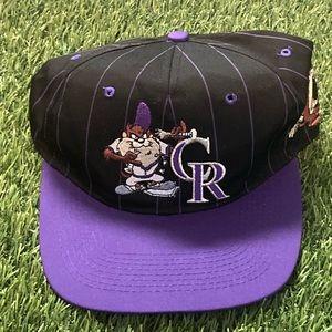 ⚾️VTG 1993 Tasmanian Devil Colorado Rockies Hat